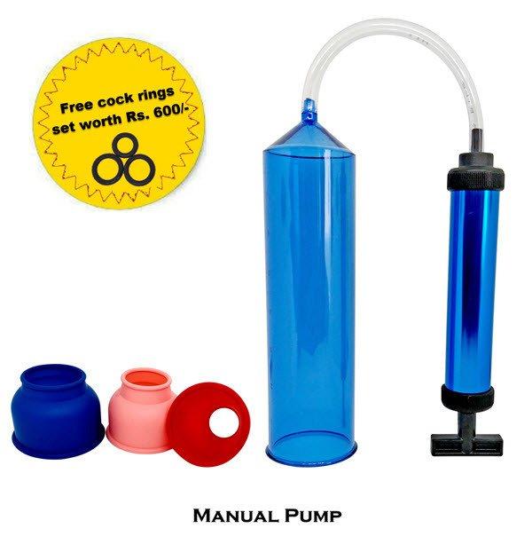 Penis Enlargement Extender Piston Manual Pump