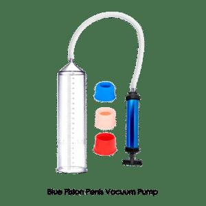 Blue piston penis enlargement erection pump